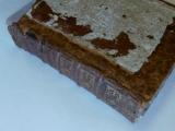 <h5>Le cuir de comblage a été positionné et le cuir d&#039;origine sera réencollé dessus...</h5>