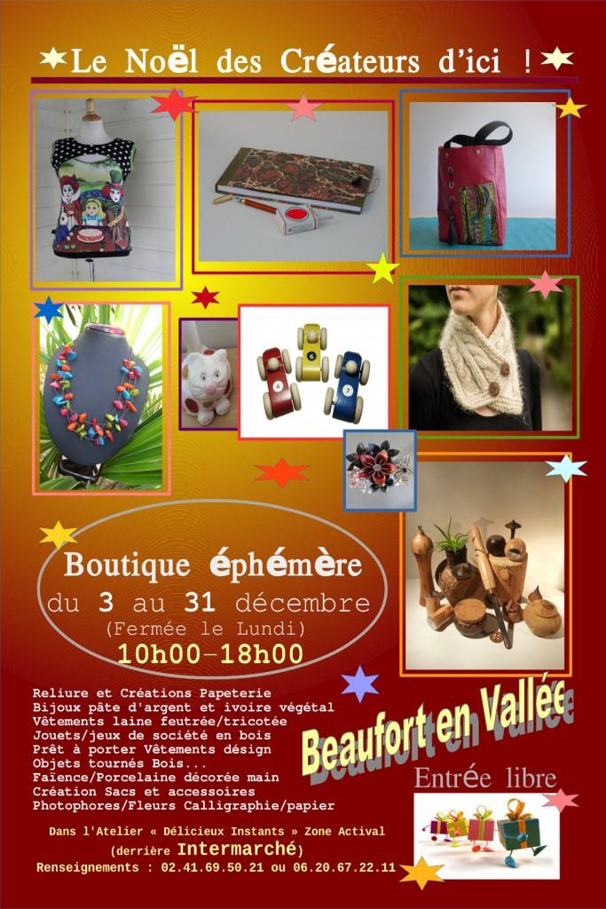 Flyer Boutique _Le No__l des Cr__ateurs d'ici ! _ 2014