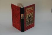 <h5>Aymeri de Narbonne</h5><p>Toile papier. cousu sur rubans. Incrustation couverture d'origine Pièce de titre papier</p>